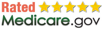 rated 5 star by medicare gov