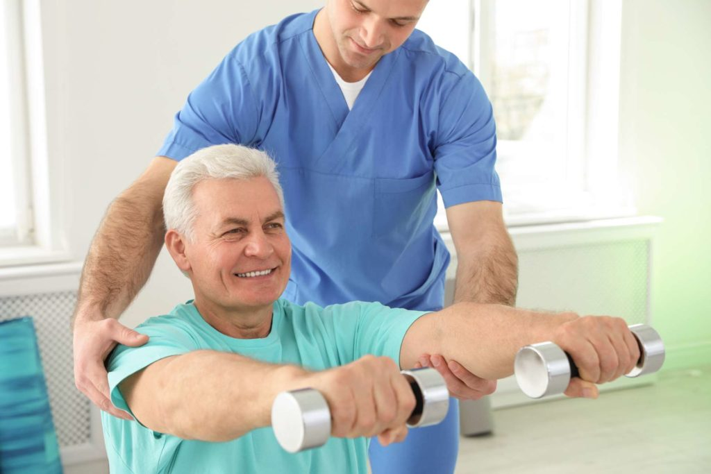 Physical Therapy to Restore Range of Motion
